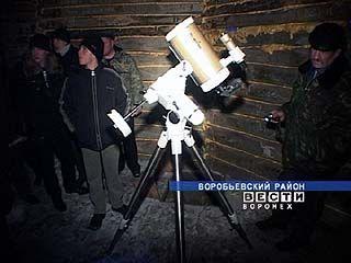 В Воробьевском районе появился немецкий телескоп