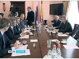 В Воронеж приехала большая делегация из Голландии