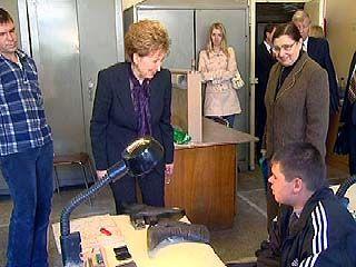 В Воронеж с рабочим визитом прибыла Галина Карелова