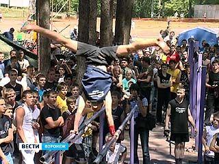 В Воронеж съехались турникмены или дворовые гимнасты