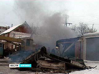В Воронеже 9 человек пострадали в результате взрыва в гаражном кооперативе