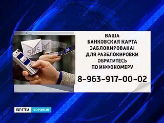 В Воронеже активировались мобильные мошенники