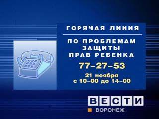 """В Воронеже будет работать """"горячая линия"""""""