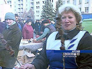 В Воронеже будут работать ярмарки