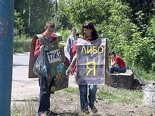 В Воронеже до сих пор не знают, кто ответит за грязные дворы