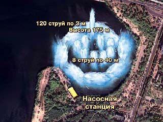 В Воронеже может появиться фонтан третий в мире по высоте