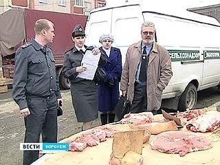 В Воронеже началась масштабная проверка уличных торговцев