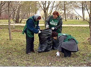В Воронеже началась широкомасштабная акция по благоустройству