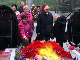 В Воронеже начались торжества в честь 63 годовщины Великой Победы