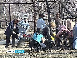 В Воронеже объявили санитарный день