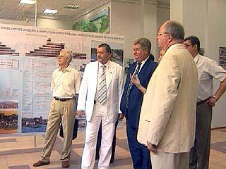 В Воронеже открылась архитектурная выставка дипломных работ