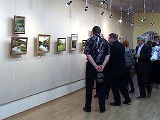 В Воронеже открылась персональная выставка художницы Елены Куликовой