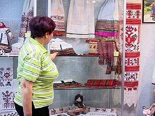 В Воронеже открылась первая выставка вышивки