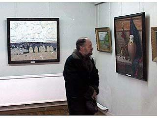 В Воронеже открылась совместная выставка двух мастеров