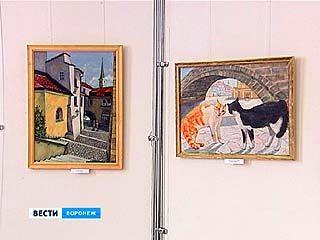 В Воронеже открылась выставка художницы Ирины Козловой