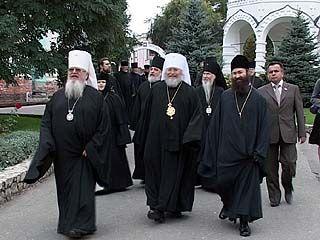 В Воронеже побывала делегация зарубежной русской православной церкви