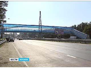 В Воронеже построят еще 5 безопасных пешеходных переходов - надземных