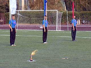 В Воронеже появилось еще одно футбольное поле