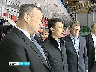 В Воронеже появится новый ледовый дворец