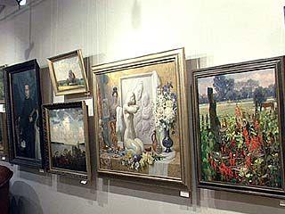 В Воронеже представлена экспозиция воронежских художников
