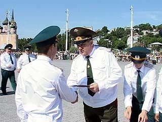 В Воронеже прибыло пожарных офицеров