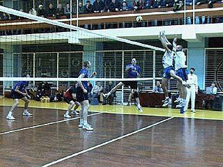 В Воронеже проходит 3-ий тур чемпионата России по волейболу