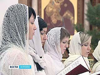 В Воронеже проходит благотворительный фестиваль русской духовной музыки