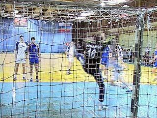 В Воронеже проходит Чемпионат России по гандболу среди мужских команд