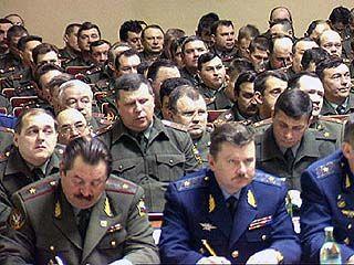 В Воронеже проходит сбор частей 20-й армии