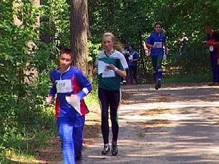 В Воронеже проходят соревнования по спортивному ориентированию