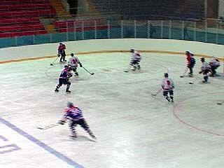 В Воронеже прошел очередной тур первенства России по хоккею