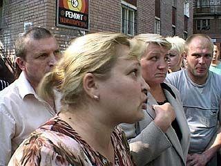 В Воронеже прошел стихийный митинг