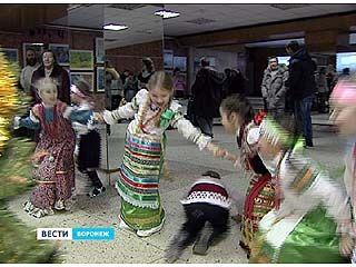 В Воронеже прошел святочный фестиваль фольклорной музыки