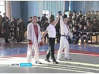 В Воронеже прошел турнир по армейскому рукопашному бою