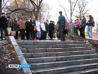 В Воронеже прошла первая историко-эзотерическая экскурсия