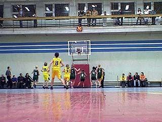 В Воронеже прошли полуфинальные игры первенства России по баскетболу