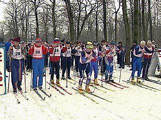 В Воронеже прошли самые массовые лыжные гонки