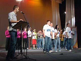 В Воронеже прошли соревнования КВНщиков-спасателей