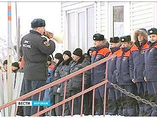 В Воронеже прошли совместные учения спасателей и сотрудников ГИМС