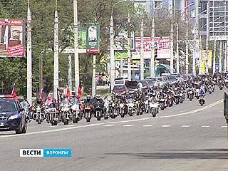 В Воронеже прошло беспрецедентное по своим масштабам байк-шоу