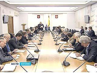 В Воронеже прошло заседание областной комиссии по безопасности дорожного движения