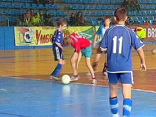 В Воронеже провели состязания детских футбольных команд