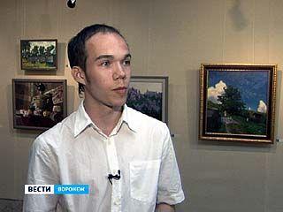 В Воронеже работает персональная выставка художника Евгения Кострюкова