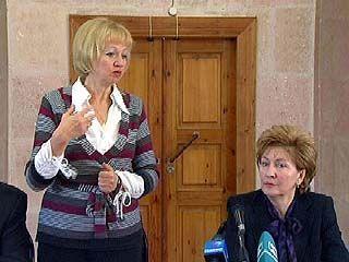 В Воронеже с рабочим визитом побывала председатель Фонда соцстраха России