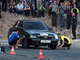 В Воронеже состоялось открытие сезона уличных гонок