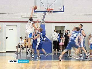 В Воронеже стартовал финал первенства России по баскетболу среди мужчин