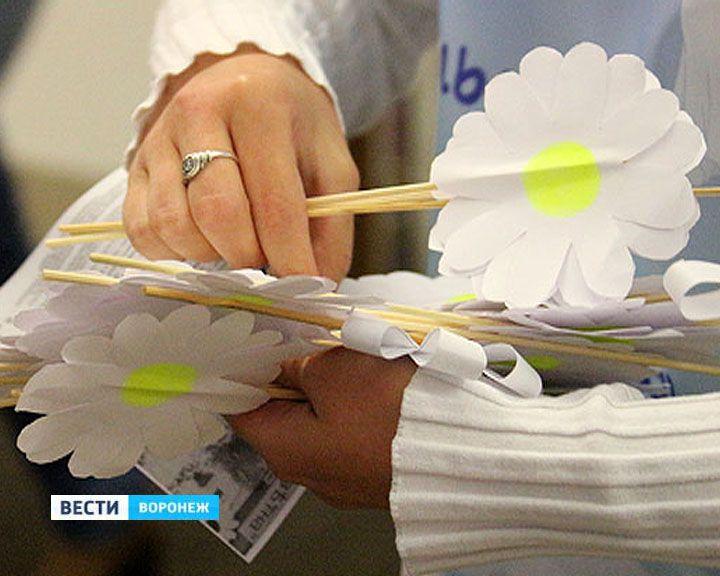 В Воронеже стартует благотворительная акция «Белый цветок»
