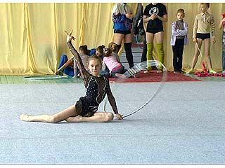 В Воронеже стартуют соревнования по художественной гимнастике