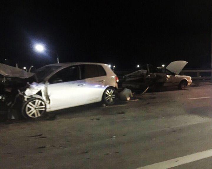 В Воронеже в ночном ДТП с двумя иномарками пострадали 5 человек