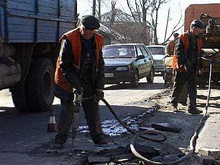 В Воронеже выполнены работы по ямочному ремонту на сумму 11 миллионов рублей